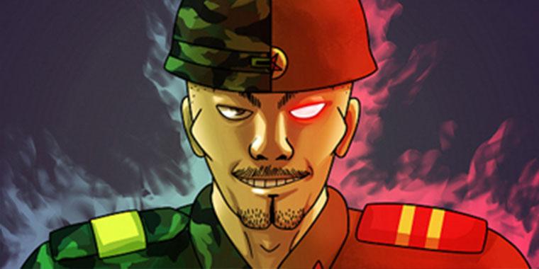 네이버 웹툰 군인RPG
