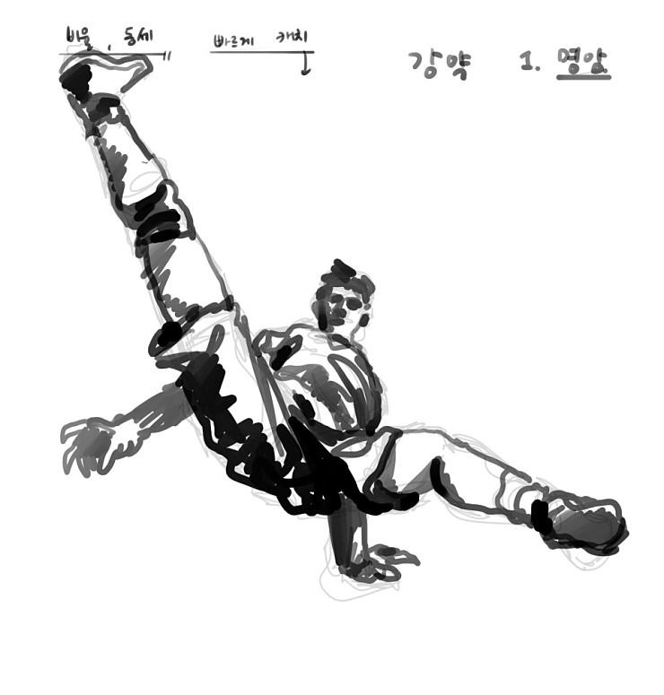 김영찬 인물 드로잉 - 스피드 드로잉 편 10